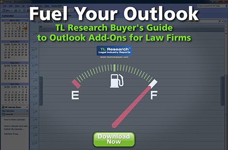 TL Research Buyer's Guide to Outlook Add-Ons for Law Firms