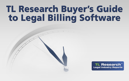 TL Research Buyer's Guide to Legal Billing Software